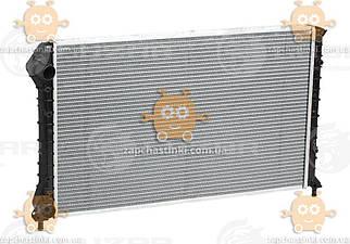 Радіатор охолодження Fiat Doblo (від 2001р) A, C + (пр-во Luzar Росія) ЗЕ 15463