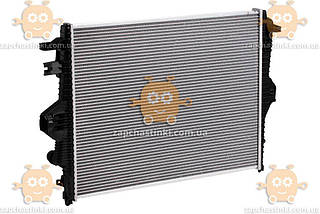 Радиатор охлаждения Cayenne 3.0TDi, 3.0TSi, 3.6FSi, 3.6TFSi (от 2010г) АКПП, МКПП (Luzar Россия) ЗЕ 58922