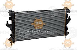Радіатор охолодження Ducato 2.2, 2.3, 3.0 (від 2006р) МКПП (пр-во Luzar Росія) ЗЕ 42303