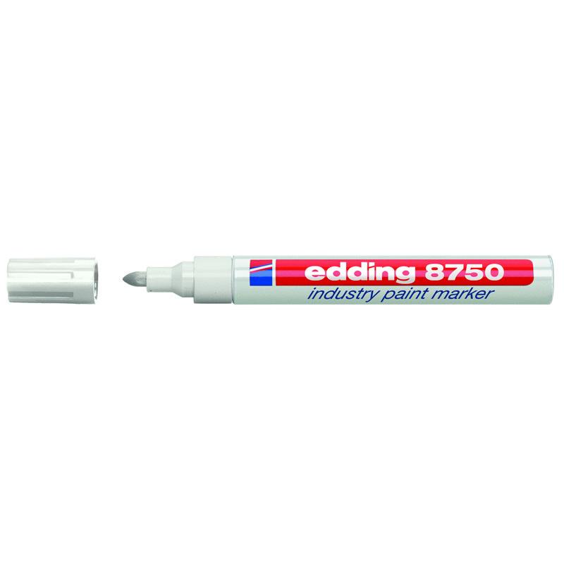 Маркер Industry Paint e-8750 2-4 мм білий