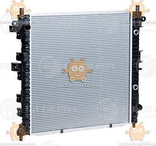 Радіатор охолодження Kyron, Actyon 2.0, 2.3 (від 2005р) АКПП 5A, T (пр-во Luzar Росія) ЗЕ 27992