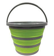 Складное Туристичне Відро 10 літрів Collapsible Bucket, фото 1