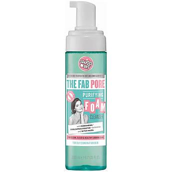 Пенка для умывания и очищения пор Soap & Glory The Fab Pore Foam Cleanser 200 мл
