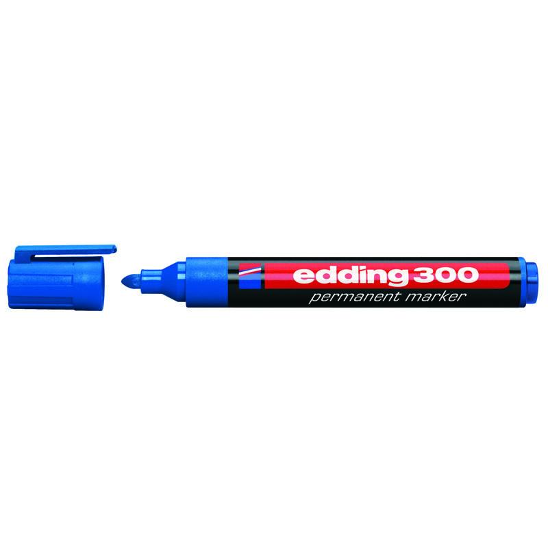 Маркер Permanent e-300 1,5-3 мм круглий синій