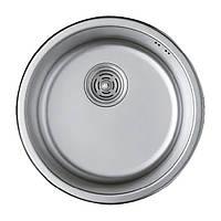 Мойка кухонная HAIBA 440 (satin) (HB0527)