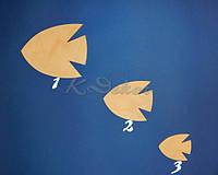 Рыбка №1 заготовка для декупажа и декора