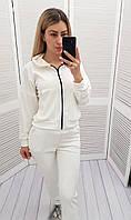 Велюровий костюм жіночий, арт.  М680, біле молоко