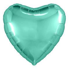 "Сердце 9"" AGURA-АГ Металлик бискайский зеленый"