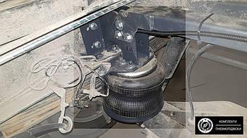 Комплект пневмоподвески Ивеко Дейли 65C,70 задняя ось. Пневмоподвеска Iveco Daily дополнительная..