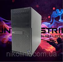 Ігровий комп'ютер Dell 390 (i5-2500/Пам'ять 8GB/SSD 240GB/Відеокарта RX550 2G) б/у