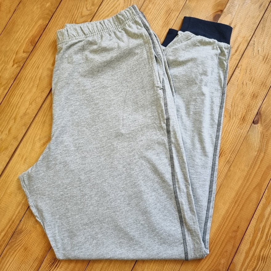 Мужские штаны для дома / сна, размер L, цвет серый