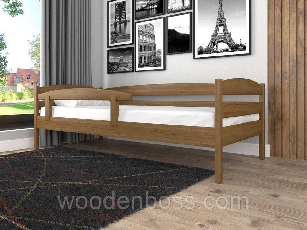 Дитяче ліжко ЛК-12 (без захисного борту) 80*190 дуб