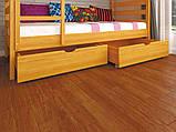 Дитяче ліжко ЛК-12 (без захисного борту) 80*190 дуб, фото 4