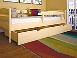 Дитяче ліжко ЛК-12 (без захисного борту) 80*190 дуб, фото 6