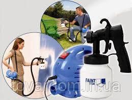 Професійний фарборозпилювач Paint Zoom (Пейнт зум), електричний краскопульт, розпилювач фарби