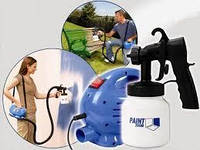 Професійний фарборозпилювач Paint Zoom (Пейнт зум), електричний краскопульт, розпилювач фарби, фото 1