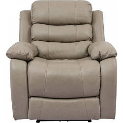 Кресло Arimax Bruce с электрореклайнером кожа капучино 2302 (U0000045)