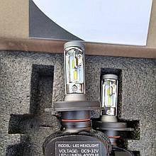 Автомобильные светодиодные лампы автолампы с цоколем H4  25 Watt S16