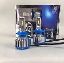 Автомобильные светодиодные лампы автолампы с цоколем H4 Hi/Lo 40W Turbo LED Т1