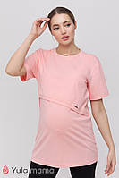 Туника для беременных и кормящих HOPE TN-21.011, розовая, Юла мама