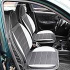 Чехлы на сиденья Опель Вектра Б (Opel Vectra B) (универсальные, кожзам, пилот СПОРТ), фото 9