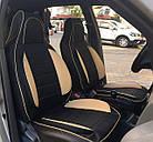 Чехлы на сиденья Рено Кенго (Renault Kangoo) (универсальные, кожзам, пилот СПОРТ), фото 8