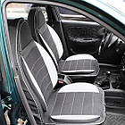 Чехлы на сиденья Рено Кенго (Renault Kangoo) (универсальные, кожзам, пилот СПОРТ), фото 9
