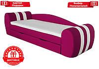 """Кровать-диван """" Гранд розовый """", фото 1"""
