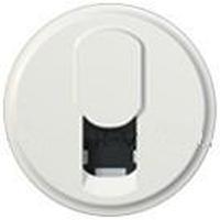 Лицевая панель телефонной розетки RJ11 Celiane белый