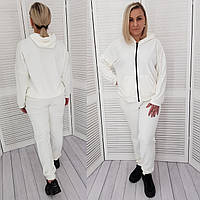 Велюровий костюм для будинку, арт.  М680, біле молоко