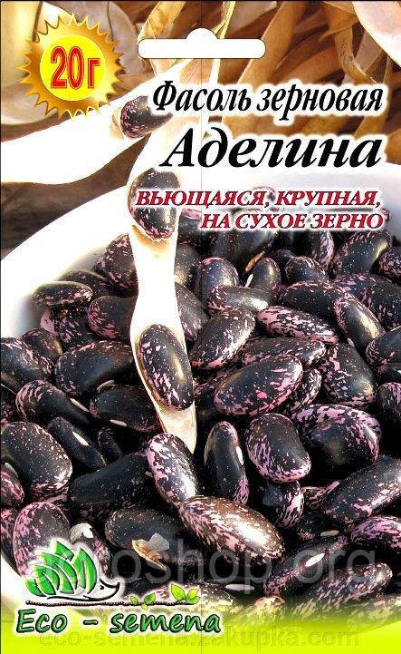 Семена Фасоль зерновая Аделина, 20 г