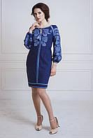 Сукня-вишиванка з льону, розмір М