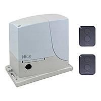 Комплект автоматики ROX1000KLT Nice для відкатних воріт (ширина до 6 м), фото 1