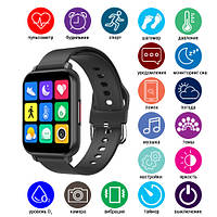 Фитнес трекер, браслет Apple band T82 Смарт часы, тонометр, пульс, фото 1