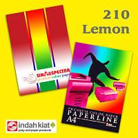 """Бумага """"Sinar spectra"""" А3 160г/м2 (250л) 210-лимон **"""
