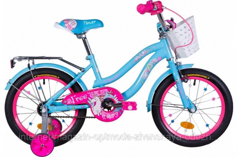 Одношвидкісний дитячий Велосипед ST 16 Formula FLOWER