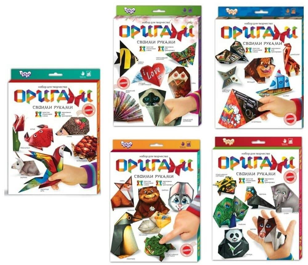 """Набір для творчості """"Орігамі"""" Danko toys"""