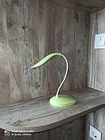 Гибкая настольная LED лампа с сенсорной регулировкой яркости