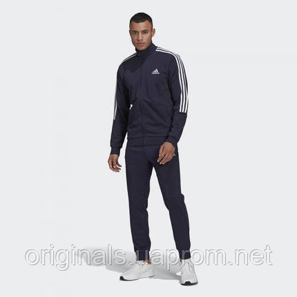 Спортивный костюм Adidas AEROREADY Essentials 3-Stripes GK9977 2021 синий, фото 2