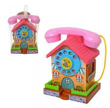 Телефон будиночок-скарбничка