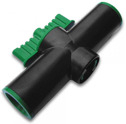 Миникран QUICK - Соединитель для трубки 16мм  / 1шт, DSA-4600