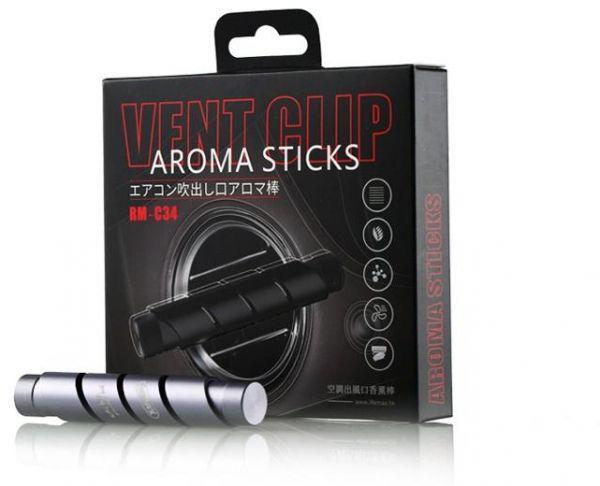 Ароматизатор для автомобиля Remax VENT Clip Aroma Sticks RM-C34. Grey
