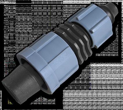Старт-Коннектор лента / трубка с зажимной  гайкой, DSTA08-01L