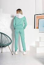Спортивный костюм 849 зеленый, фото 3