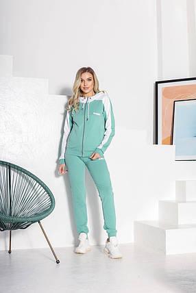 Спортивный костюм 849 зеленый, фото 2