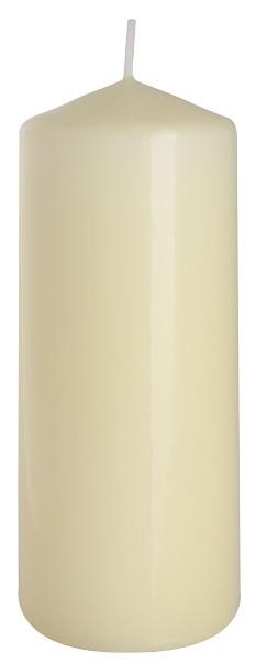 Свеча кремовая для ресторанов 60х150мм 1шт