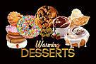 Съедобный лубрикант 4 в 1 WET Warming Desserts Baked Gooey Chocolate Chip Cookie (со вкусом шоколадного, фото 2