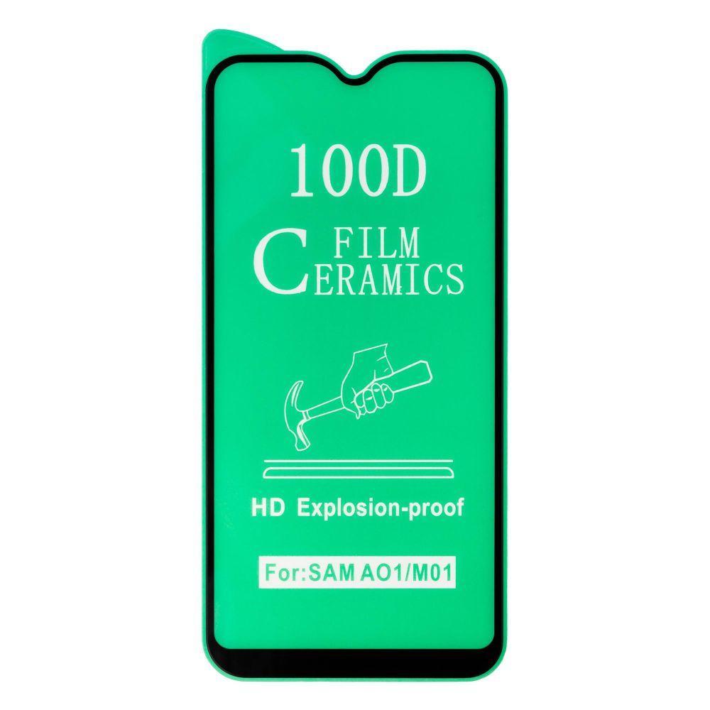 Захисне скло гнучке Film Ceramic для SAMSUNG A01 чорний