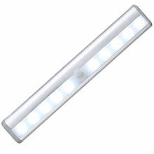 Светодиодный LED светильник с датчиком движения Motion Brite - Белый, освещение для мебели