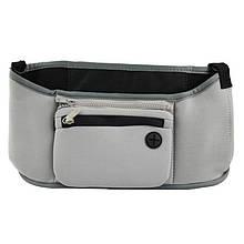 Распродажа! Органайзер на ручку коляски, сумка чехол, Grab & Go, цвет - серый, сумка на коляску для мамы